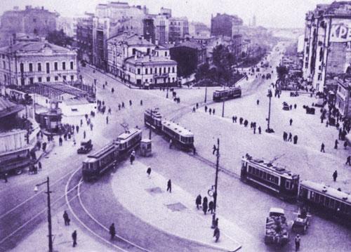 Площадь Красные Ворота в Москве