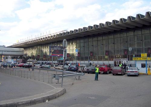 Площадь Курского вокзала в Москве