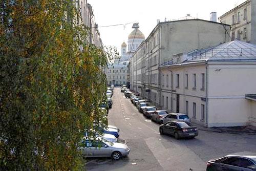 Лебяжий переулок в Москве