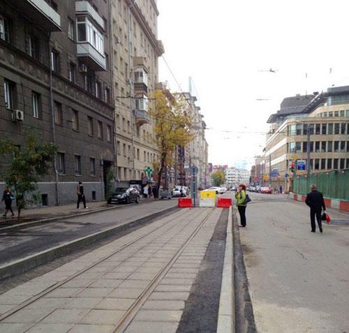 Лесная улица в Москве
