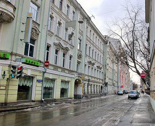 Лялин переулок в Москве