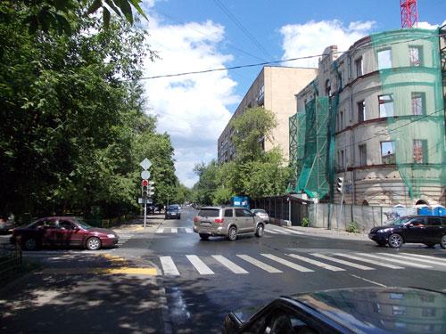 Малая Грузинская улица в Москве