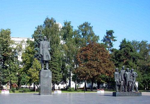 Миусская площадь в Москве