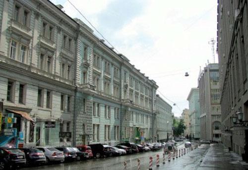 Никитский переулок в Москве
