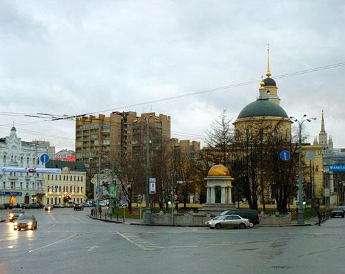 Площадь Никитские Ворота в Москве