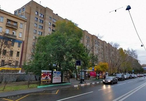 Улица Плющиха в Москве