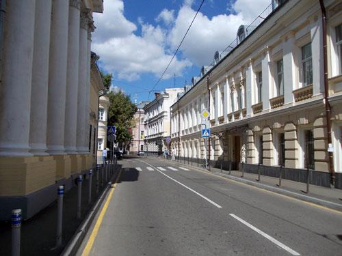 Потаповский переулок в Москве