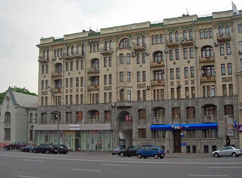 Садовая-Кудринская улица в Москве