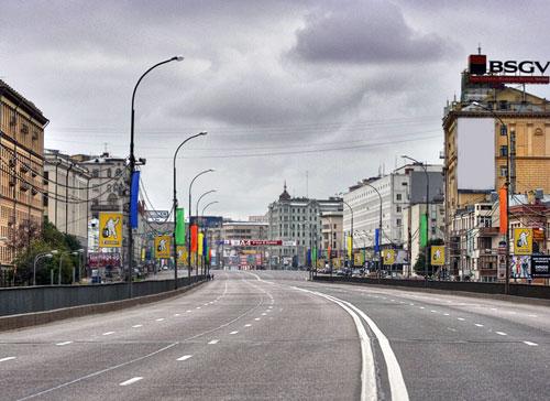 Садовая-Самотечная улица в Москве