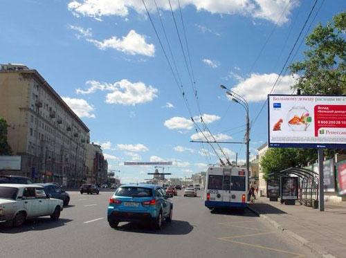 Садовая-Спасская улица в Москве