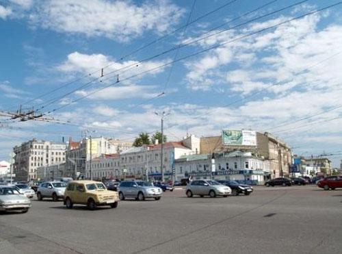 Самотечная площадь в Москве