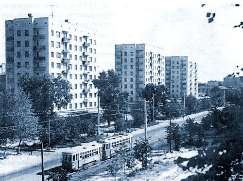 Улица Шаболовка в Москве
