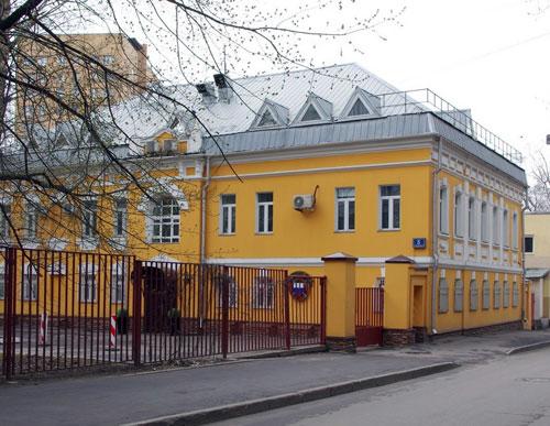 Шелапутинский переулок в Москве