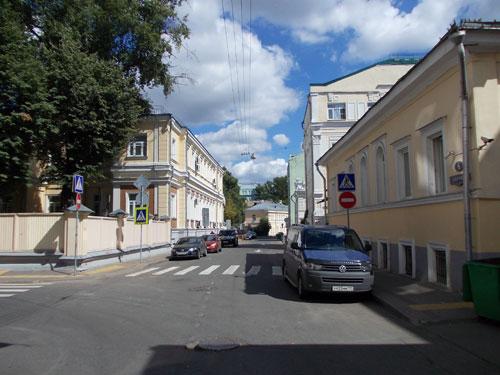 Сверчков переулок в Москве