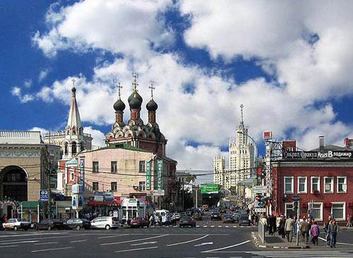 Таганская площадь в Москве