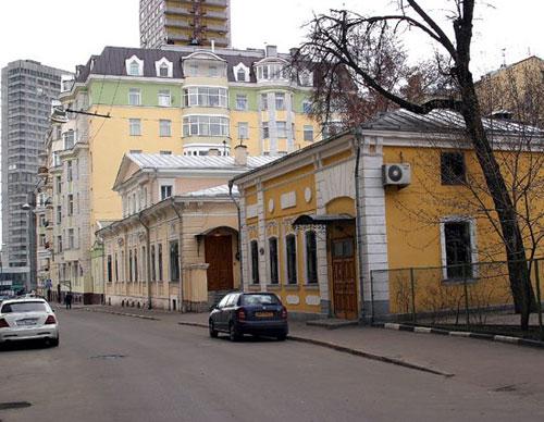 Трубниковский переулок в Москве