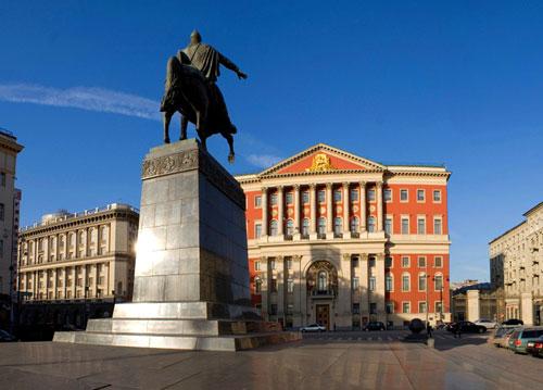 Тверская площадь в Москве