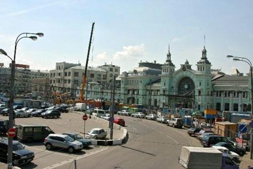 Площадь Тверская Застава в Москве