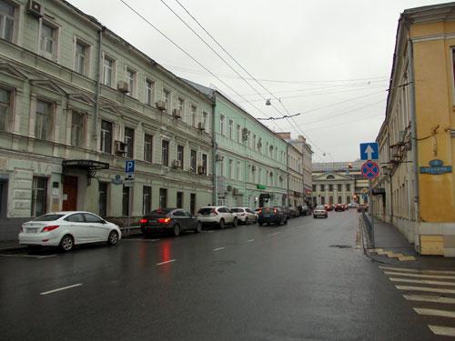 Улица Ленивка в Москве