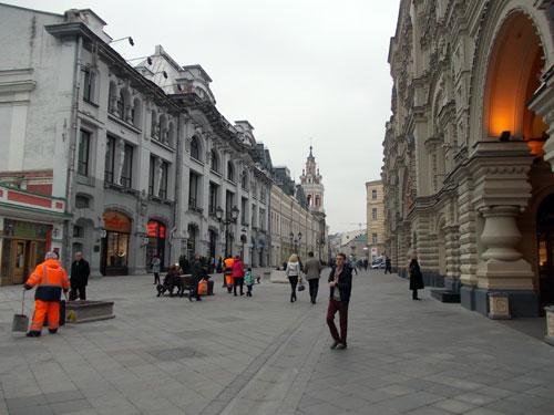 Улица Никольская в Москве
