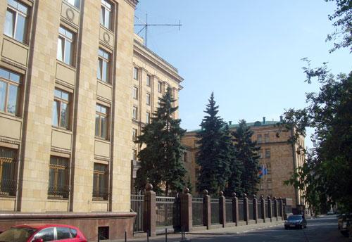 Улица Юлиуса Фучика в Москве