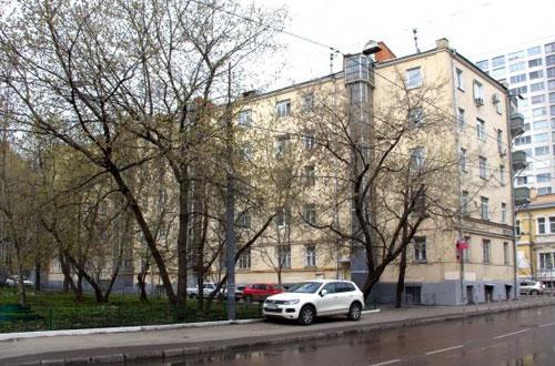 Вадковский переулок в Москве