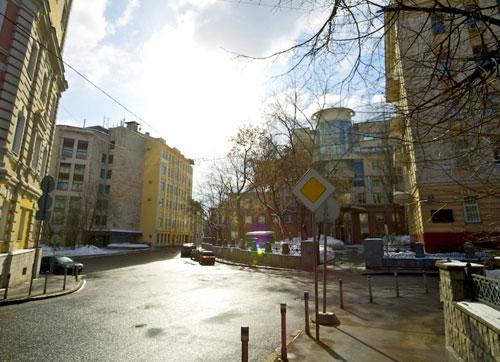 Вознесенский переулок в Москве