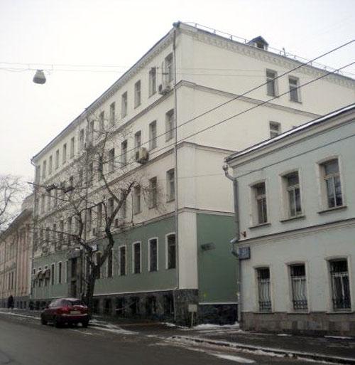 Яблонный переулок в Москве