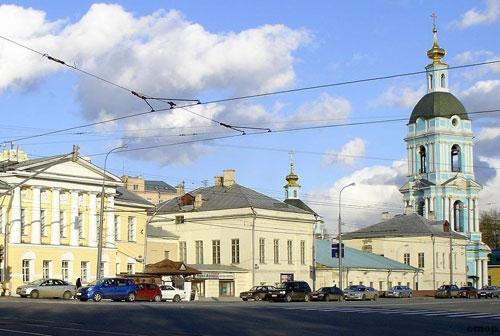 Площадь Яузские ворота в Москве