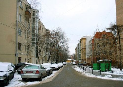 Языковский переулок в Москве