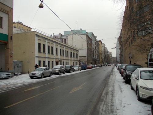 Первая Брестская улица в Москве