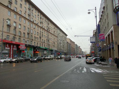 Первая Тверская-Ямская улица в Москве