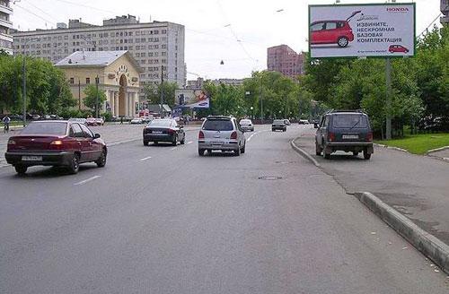 Абельмановская улица в Москве