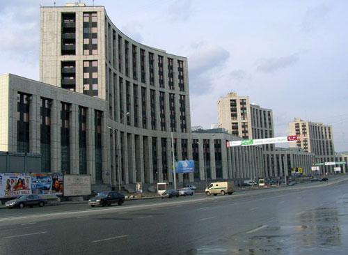 Проспект Академика Сахарова в Москве
