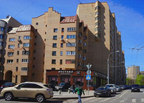 Александра Невского улица и переулок в Москве