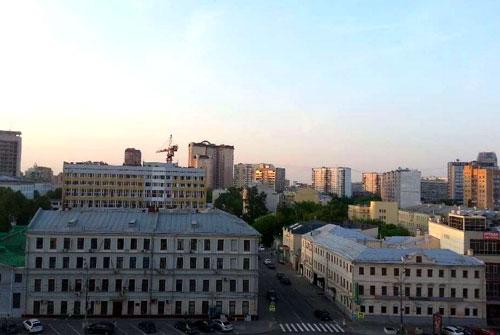 Ананьевский переулок в Москве