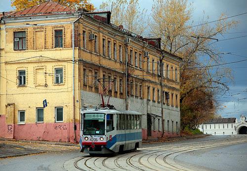 Андроньевский проезд в Москве