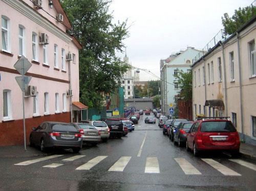 Аристарховский переулок в Москве