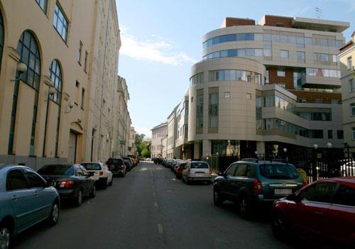 Ащеулов переулок в Москве