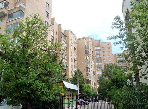 Астраханский переулок в Москве
