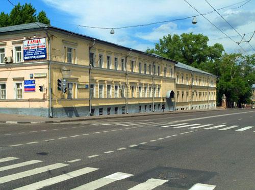 Бакунинская улица в Москве