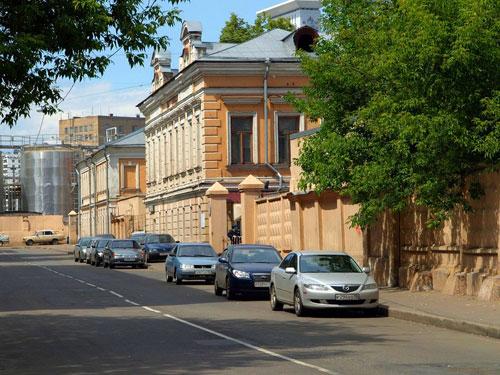 Балакиревский переулок в Москве