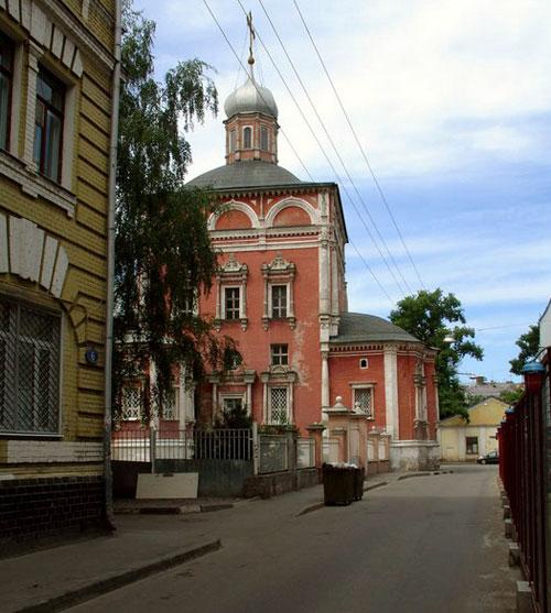Барашевский переулок в Москве