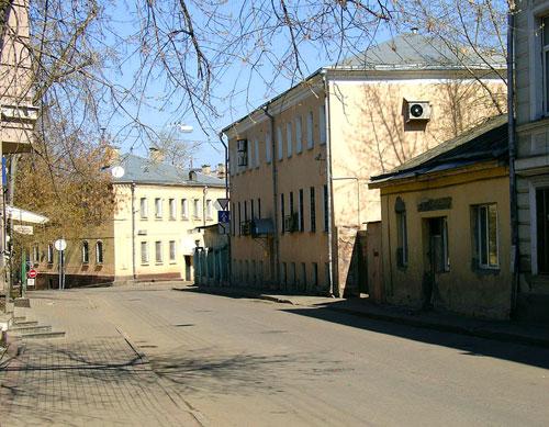 Басманный переулок в Москве