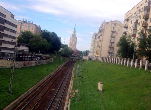 Басманный тупик в Москве