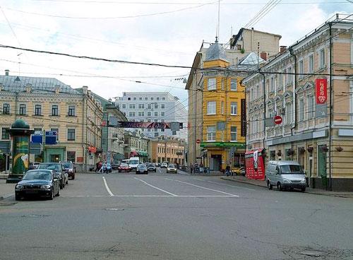 Улица Большая Лубянка в Москве