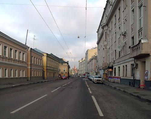 Улица Большая Ордынка в Москве