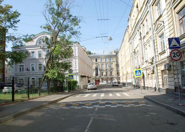 Фурманный переулок в Москве