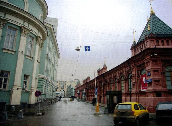 Георгиевский переулок в Москве