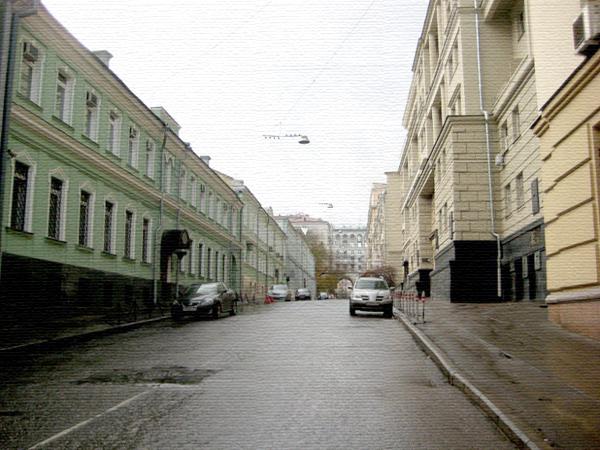 Глинищевский переулок в Москве